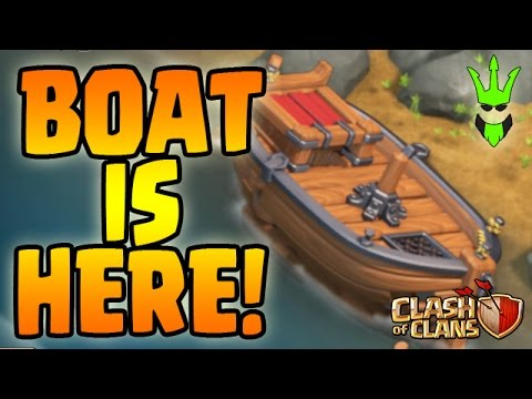 Thumbnail: THE BOAT IS HERE! - WHAT IS THIS BOAT IN CLASH OF CLANS?!! - 2017 MASSIVE UPDATE SPECULATION