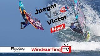 Jaeger Stone vs Victor Fernandez Mens Final PWA Tenerife 2019