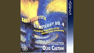 Symphony No. 4 In C Minor, Op. 43: I. Allegretto Poco Moderato. Presto (Shostakovich)