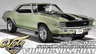 1969 Chevrolet Camaro Z28 RS for sale at Volo Auto Museum (V18874)