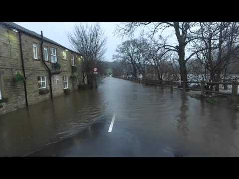 Ship inn Mirfield 26-12-2015 the Flood