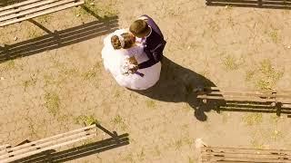 Пример видеосъемки свадьбы с использованием квадрокоптера