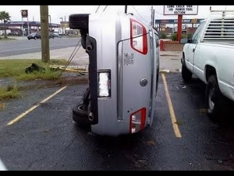 Funny Girl Parking a CAR