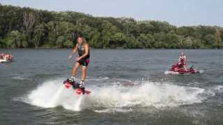 Flyboard - River Tisa - Somewhere By Scott and Brendo