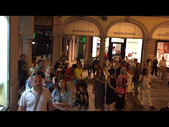 La Montanara - Piazza San Carlo Lugano agosto 2019
