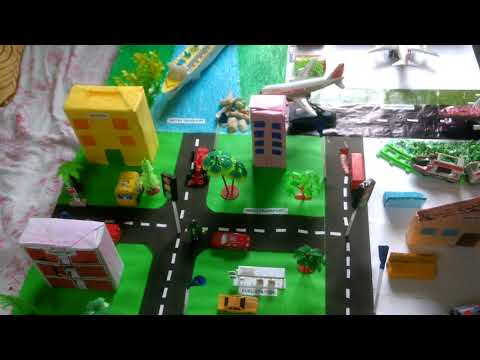 Modes of Transport Model   first prize winner project - YouTube