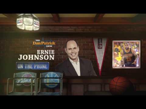 Ernie Johnson on Cavs/Warriors rivalry & LeBron