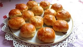 Пирожки из слоеного теста