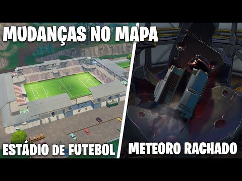 PATCH V4.4 | TODAS AS MUDANÇAS NO MAPA - Fortnite