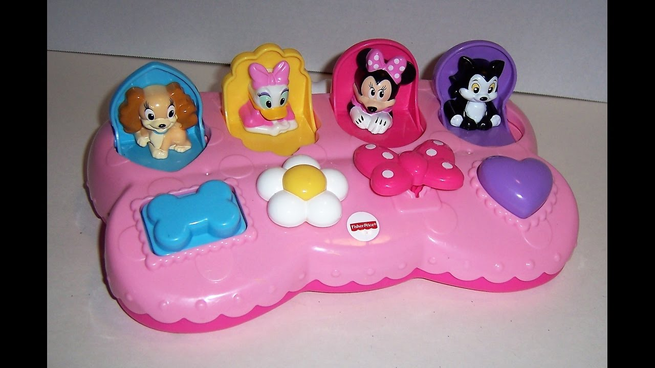 Fisher Price Disney Baby Go pop-up toy - YouTube