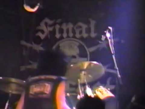Final Conflict - Fender's Ballroom, Long Beach, C.A. 22.11.86