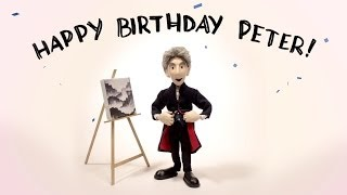 Happy Birthday Peter Capaldi! - A Doctor Puppet Fan Art Tribute