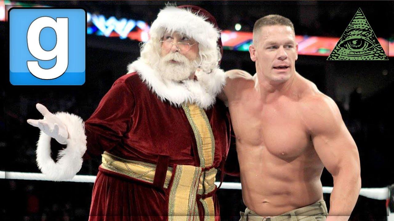 GMOD - John Cena and the Illuminati Ruin Christmas - YouTube