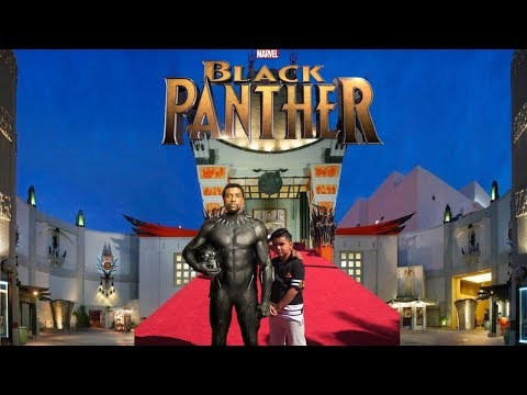 BLACK PANTHER MOVIE PREMIERE: LIVE @ HOLLYWOOD TCL CHINESE THEATER! QKIDSLIVE!