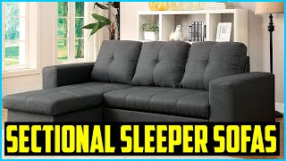 Top 5 Best Sectional Sleeper Sofas in 2020 Reviews
