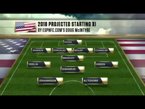 Projecting the USMNT's 2018 World Cup squad