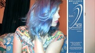 Dying Hair Using Shark Blue: Ion Color Brilliance Thumbnail