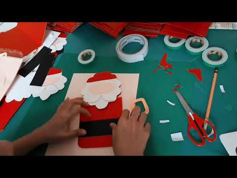 How to make Christmas Party Invitations🎄🎁