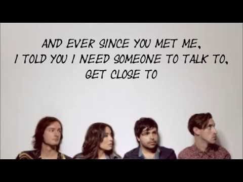 What Can I Say - The Colourist lyrics