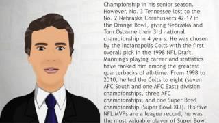 Peyton Manning - Wiki Videos