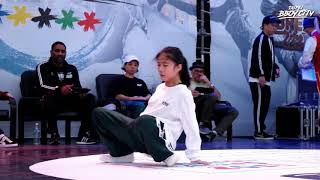 Bgirl Top16 Group A Battle 5/6:Ram(JP)vs Yona(TW)|2017 Taipei Bboy City 青年奧運街舞亞洲賽