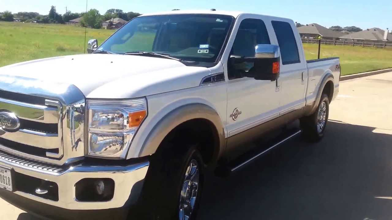 medium resolution of for sale 47 900 for 2012 ford lariat f250 fx4 power stroke diesel 28k miles youtube
