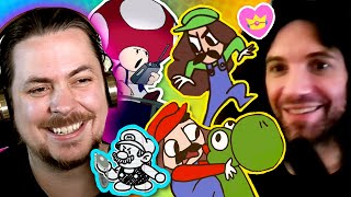 We watch MARIO Game Grumps Animations! - Game Grumps Compilations
