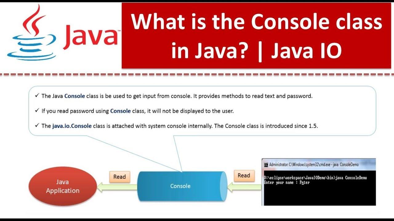 Java tutorial java io console class youtube java tutorial java io console class baditri Gallery
