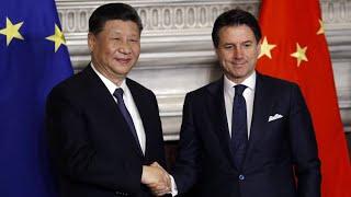 """Italien beteiligt sich als erste G7-Nation an chinesischer Initiative """"Neue Seidenstrasse"""
