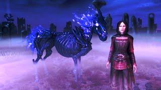 #8-1 Найти череп Арвака. Конь Каирна Душ. Dawnguard. Скайрим СЭ - Маг 81 левел на Легенде