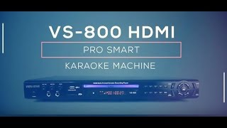 VS-800 Vocal-Star HDMI Karaoke Machine supports Tablet/Phone connection overview (e)