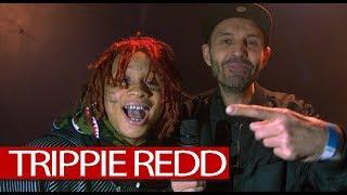 Trippie Redd backstage after lit London show (4K)
