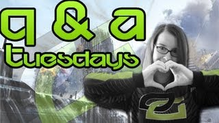Q & A Tuesdays w/ OpTic MiDNiTE - OpTic Jewel, Weed & Favorite YouTuber