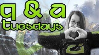 Q & A Tuesdays w/ OpTic MiDNiTE - OpTic Jewel, Weed & Favorite YouTuber