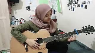 Titip Angin Kangen - Genoskun.  cover akustik #anivasasha #titipanginkangen gitar
