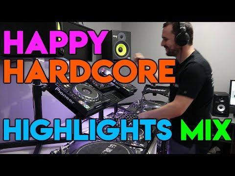 DJ Cotts - Happy Hardcore Highlights Mix