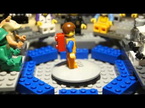 THE LEGO MOVIE Trailer Parody
