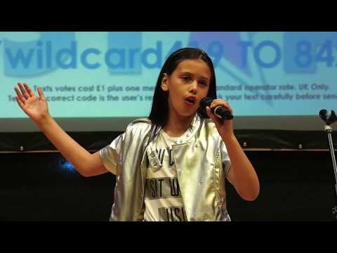 YOU'LL NEVER WALK ALONE performed by T'MYA FYFFE at Teenstar Manchester Area Final