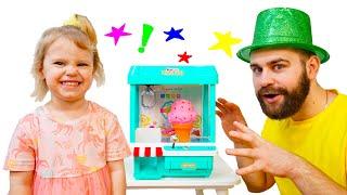 Детский аппарат с игрушками для девочки Ники за хорошие поступки