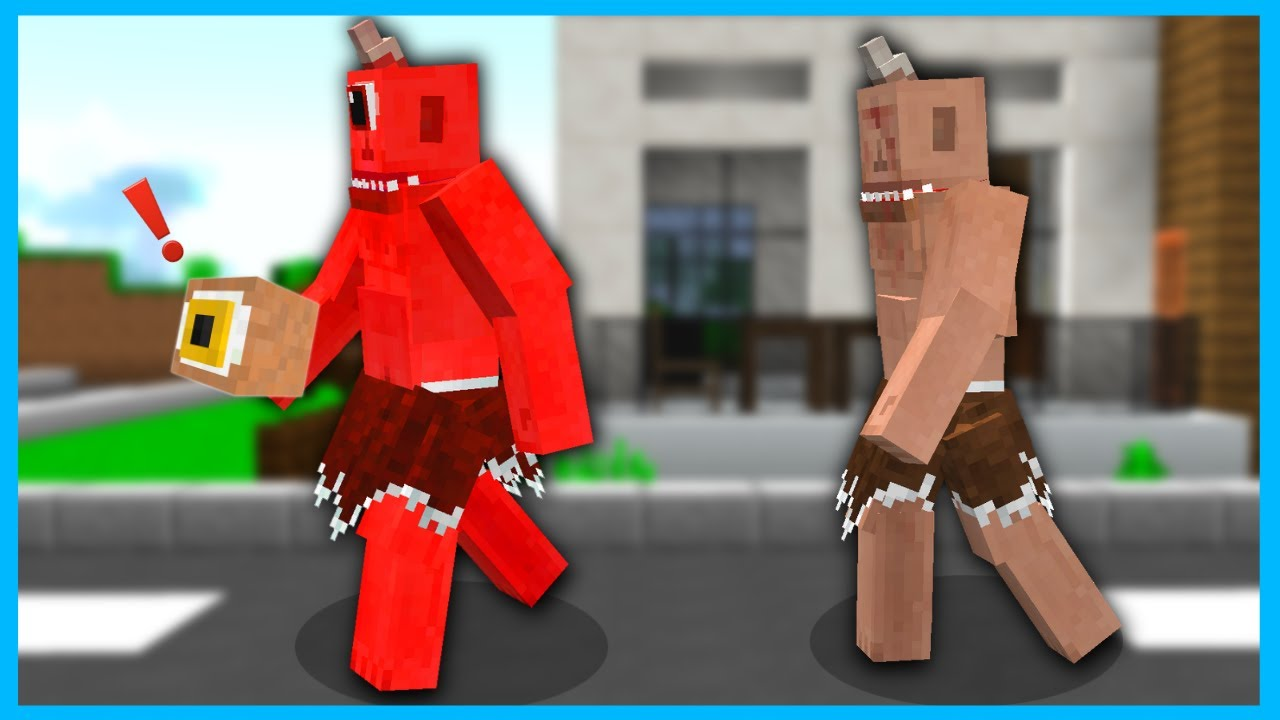 KÖTÜ İKİZ TEPEGÖZ'ÜN GÖZÜNÜ KAÇIRDI! 😱 - Minecraft