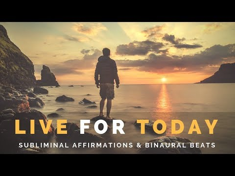 LIVE IN THE PRESENT MOMENT | Subliminal Meditation to Stay Present & Grounded