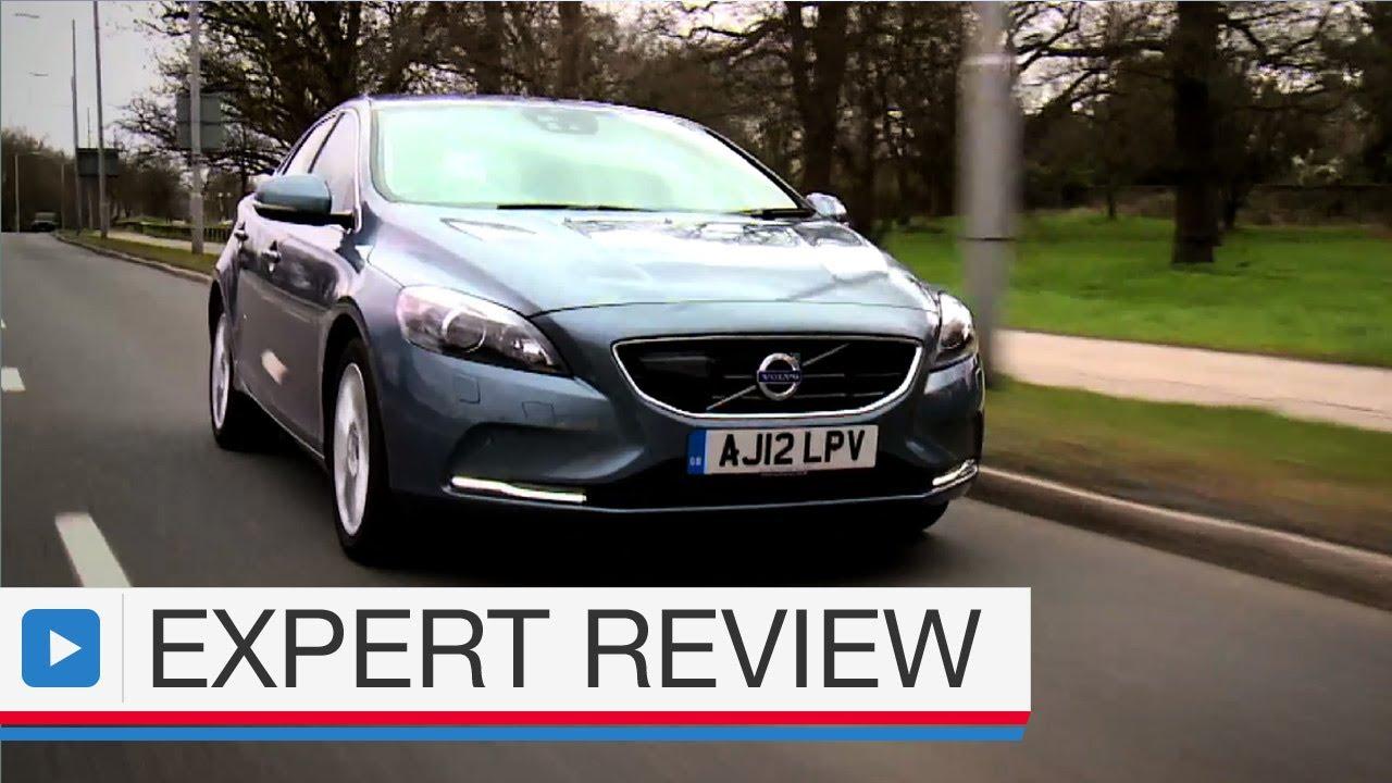Volvo V40 hatchback expert car review - YouTube