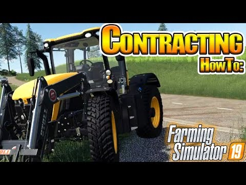 Contracting in Farming Simulator 19 - How To in FS19