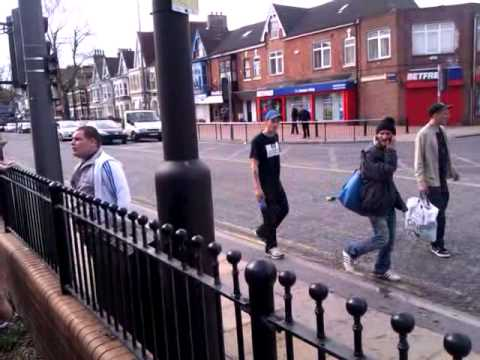 Hull City Promotion Celebrations after Cardiff game,idiot starting fight at New Griffin pub