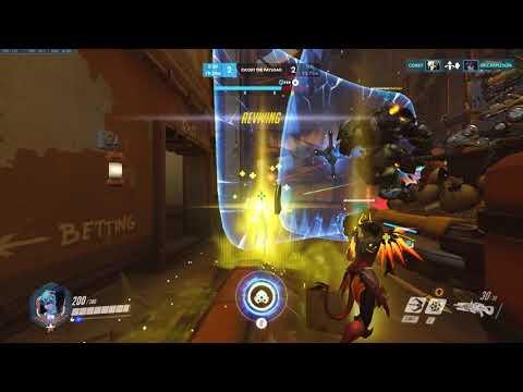 Overwatch: Late game Intense Widow v Widow