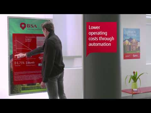 Fujitsu Digital Media Services for Banking