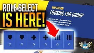 Overwatch News - ROLE SELECT! HUGE SOCIAL UPDATE! Endorsements and Looking for Group!
