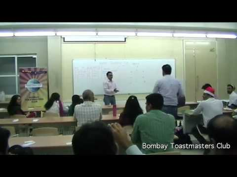 Meeting 215 - Bombay Toastmasters - 24 DEC 2016