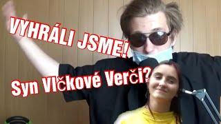 Vyhráli jsme! |  Vlčkova Verča má syna?