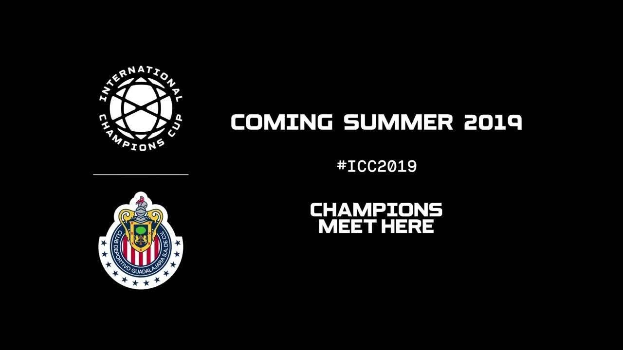 Chivas International Champions Cup Calendario.Chivas Are Heading To The 2019 International Champions Cup